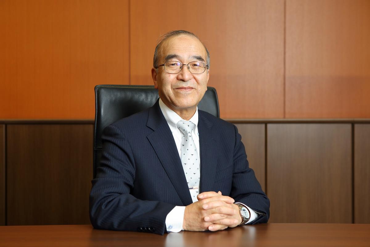 東洋大学付属姫路高校大森茂樹校長の写真